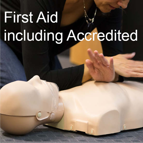 First Aid Courses (Accredited and Non-Accredited)